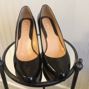 Cole Haan black patent leather shoes